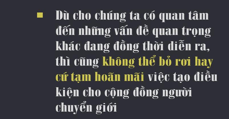 Hoa hậu Hương Giang: 'Tôi tha thiết mong cộng đồng LGBT cùng lên tiếng thúc đẩy quyền của người chuyển giới' - Ảnh 5.