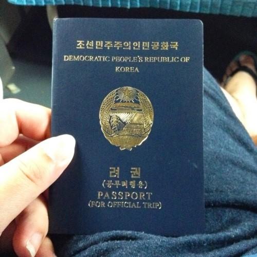 Bên trong cuốn hộ chiếu ít người thấy của Triều Tiên - Ảnh 1.