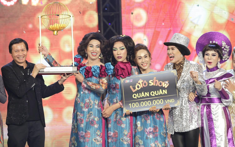 'Thánh lô tô' Lộ Lộ cùng đoàn Sài Gòn Tân Thời đăng quang quán quân 'Lô tô show 2018'