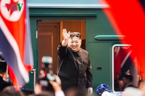 Chủ tịch Triều Tiên Kim Jong-un đã về tới Bình Nhưỡng - Ảnh 1.