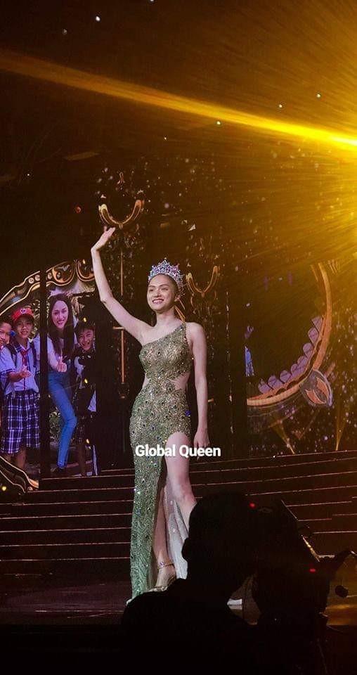 Váy Hương Giang sẽ mặc đêm chung kết Hoa hậu Chuyển giới 2019 bị nghi nhái Hoa hậu Hoàn vũ - Ảnh 1.