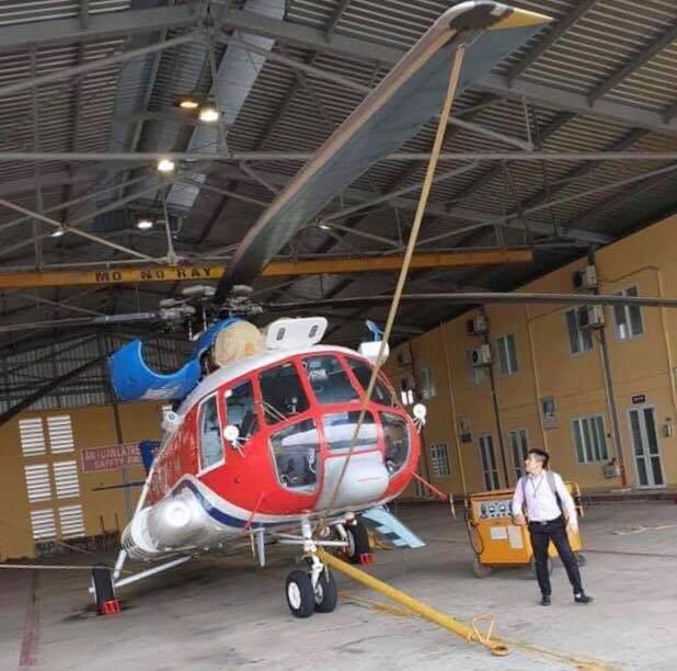 FastGo triển khai dịch vụ đi chung bằng trực thăng - Ảnh 1.