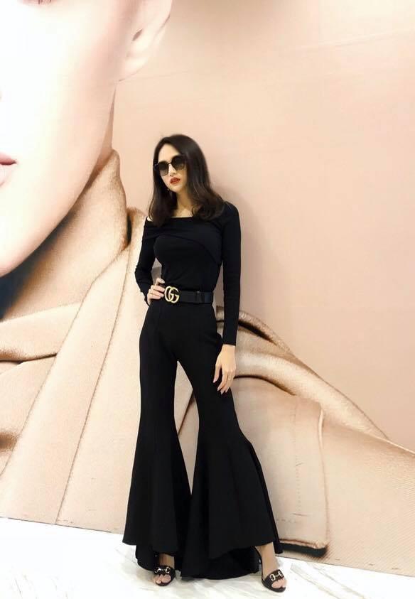 Phong cách thời trang ngày càng thăng hạng của Hoa hậu Hương Giang  - Ảnh 10.