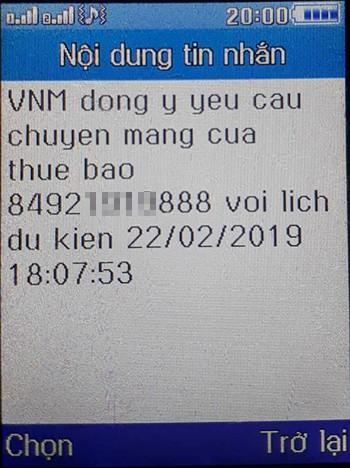 Chủ thuê bao bị thu hồi sim VIP sau yêu cầu chuyển mạng giữ số - Ảnh 1.