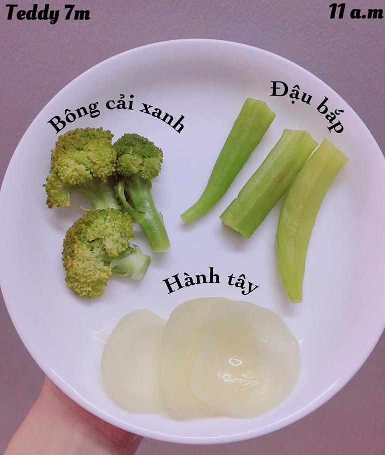 Bé ăn ngon miệng với thực đơn ăn dặm 3in1 cho trẻ 7 tháng - Ảnh 5.