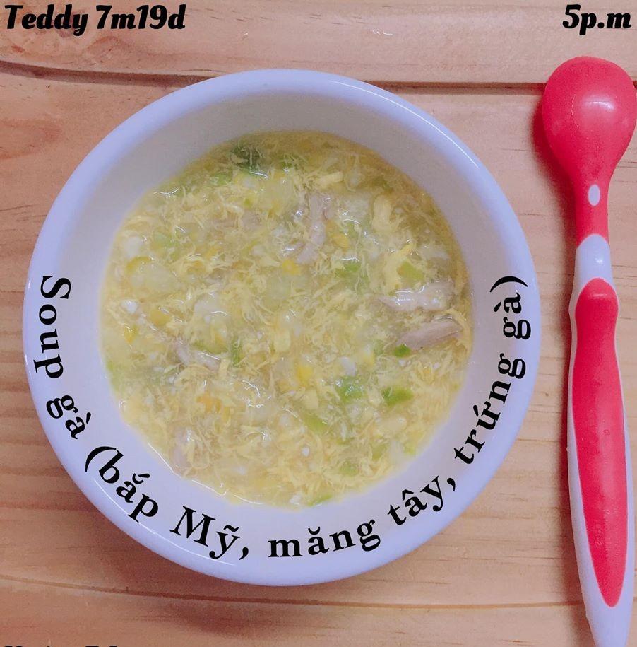 Bé ăn ngon miệng với thực đơn ăn dặm 3in1 cho trẻ 7 tháng - Ảnh 38.