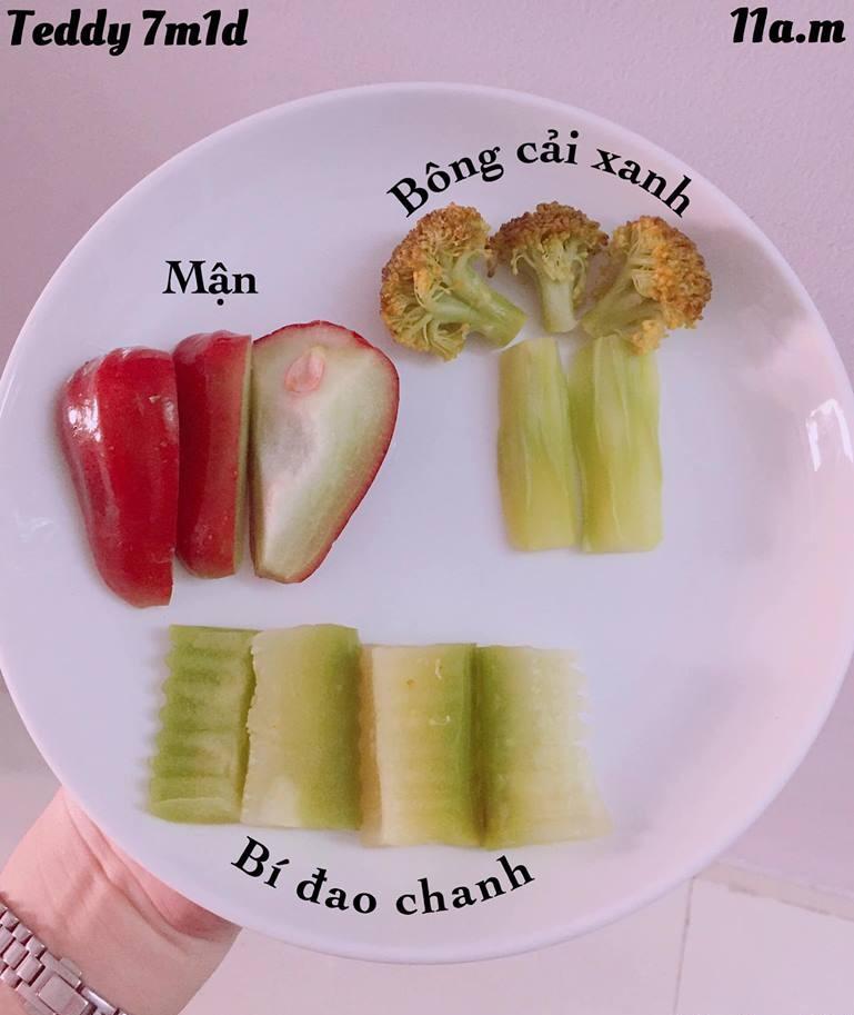 Bé ăn ngon miệng với thực đơn ăn dặm 3in1 cho trẻ 7 tháng - Ảnh 7.
