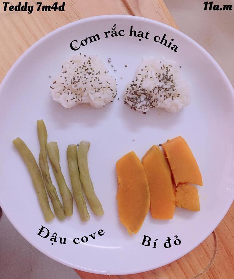 Bé ăn ngon miệng với thực đơn ăn dặm 3in1 cho trẻ 7 tháng - Ảnh 13.