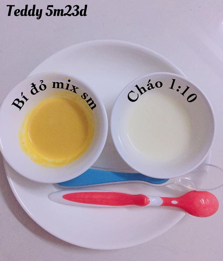 Bé ăn ngon miệng với thực đơn ăn dặm 3in1 cho trẻ 7 tháng - Ảnh 2.