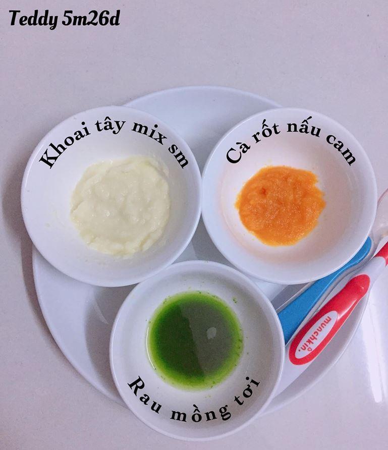 Bé ăn ngon miệng với thực đơn ăn dặm 3in1 cho trẻ 7 tháng - Ảnh 4.