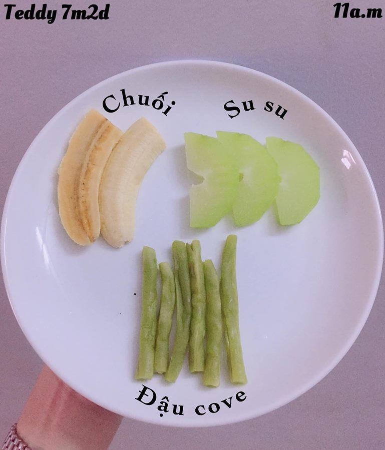 Bé ăn ngon miệng với thực đơn ăn dặm 3in1 cho trẻ 7 tháng - Ảnh 9.