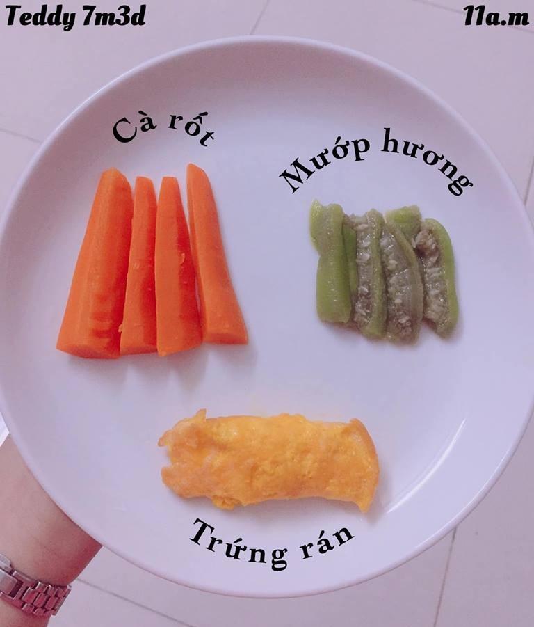 Bé ăn ngon miệng với thực đơn ăn dặm 3in1 cho trẻ 7 tháng - Ảnh 11.