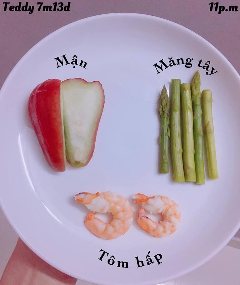 Bé ăn ngon miệng với thực đơn ăn dặm 3in1 cho trẻ 7 tháng - Ảnh 29.