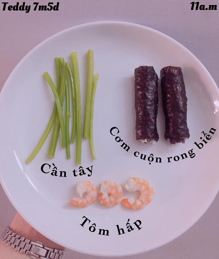 Bé ăn ngon miệng với thực đơn ăn dặm 3in1 cho trẻ 7 tháng - Ảnh 15.