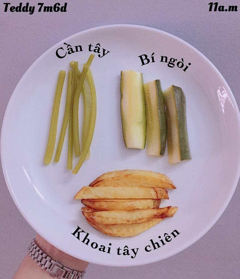 Bé ăn ngon miệng với thực đơn ăn dặm 3in1 cho trẻ 7 tháng - Ảnh 16.