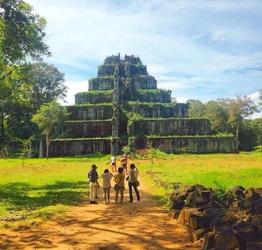 Điều kỳ bí về kim tự tháp duy nhất Đông Dương - Ảnh 7.