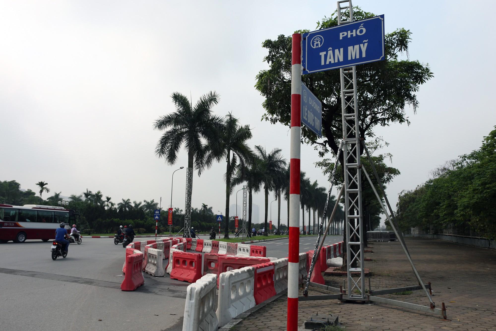 Cận cảnh nơi xe đua F1 sắp trình diễn ở sân vận động Mỹ Đình - Ảnh 6.