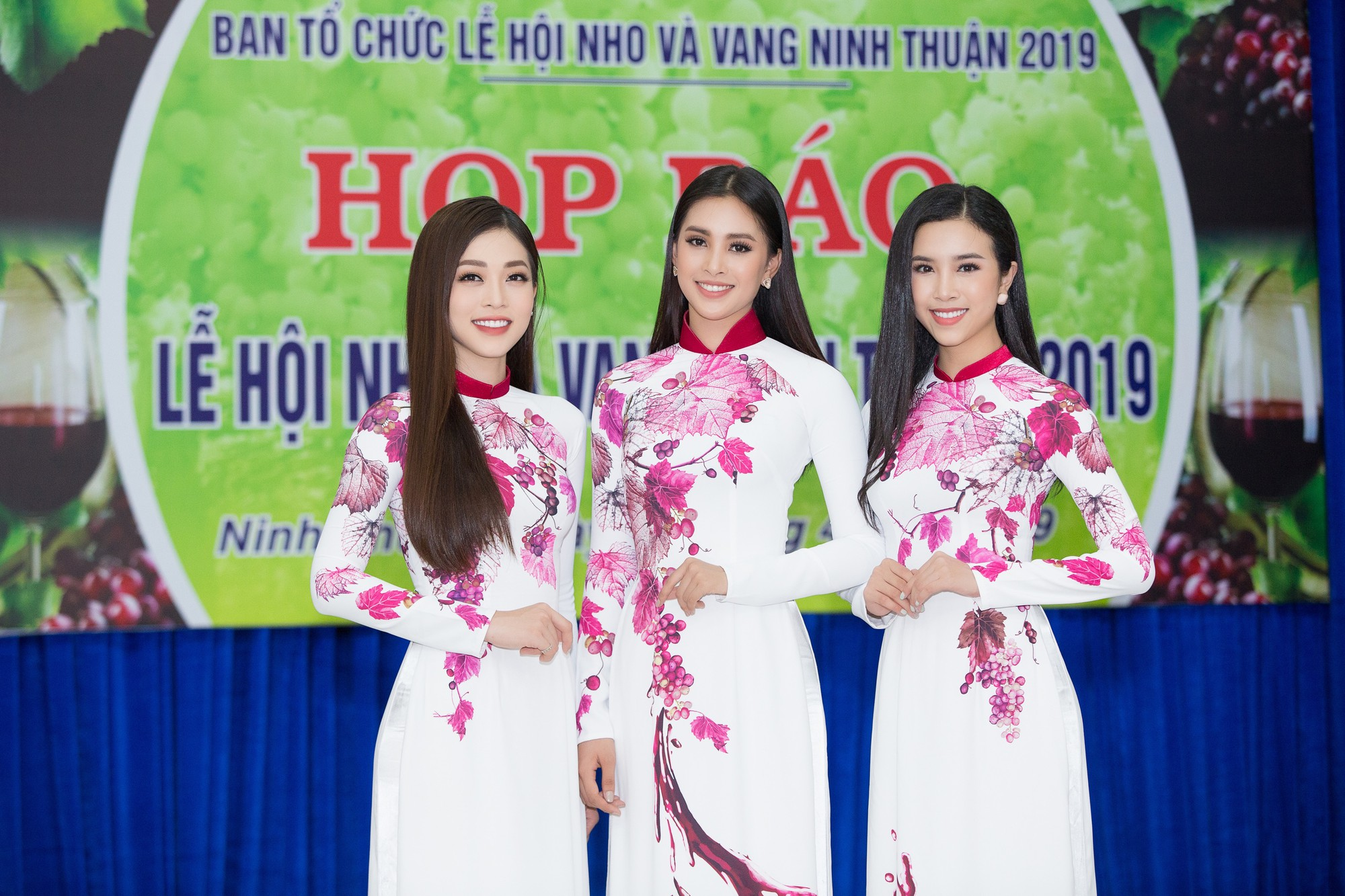 Top 3 Hoa hậu Việt Nam 2018 bắt tay đạo diễn Hoàng Nhật Nam trở thành nữ thần nho - Ảnh 1.