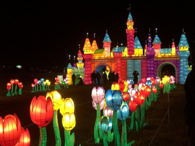 Quẩy tưng bừng tại lễ hội ánh sáng lớn nhất TP HCM - Ảnh 4.