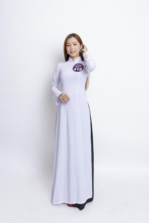 Mâu Thủy catwalk thị phạm cho thí sinh Hoa hậu bản sắc Việt toàn cầu 2019  - Ảnh 8.