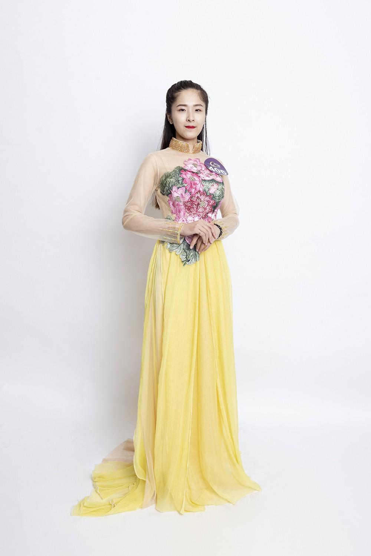 Mâu Thủy catwalk thị phạm cho thí sinh Hoa hậu bản sắc Việt toàn cầu 2019  - Ảnh 7.