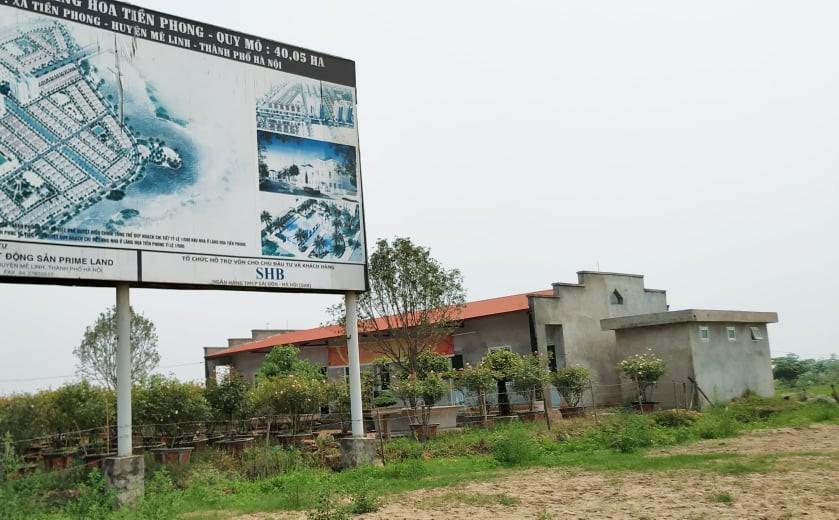 Sau 10 năm xây dựng, 2.000 ha đất hoang tàn, bỏ hoang tại Mê Linh - Ảnh 1.