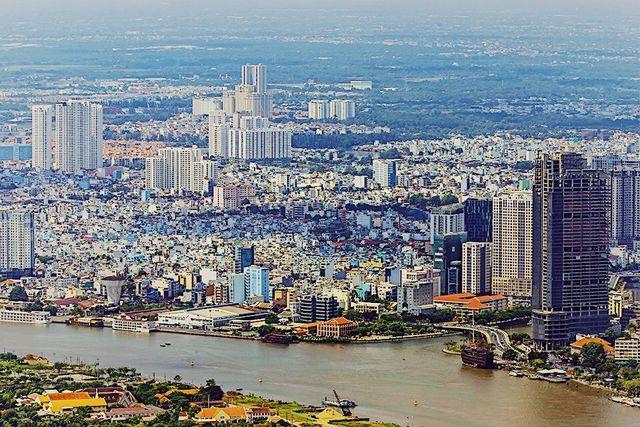Hé lộ hình ảnh độc nhất vô nhị đầu tiên từ đài quan sát cao nhất Đông Nam Á giữa Sài Gòn - Ảnh 3.