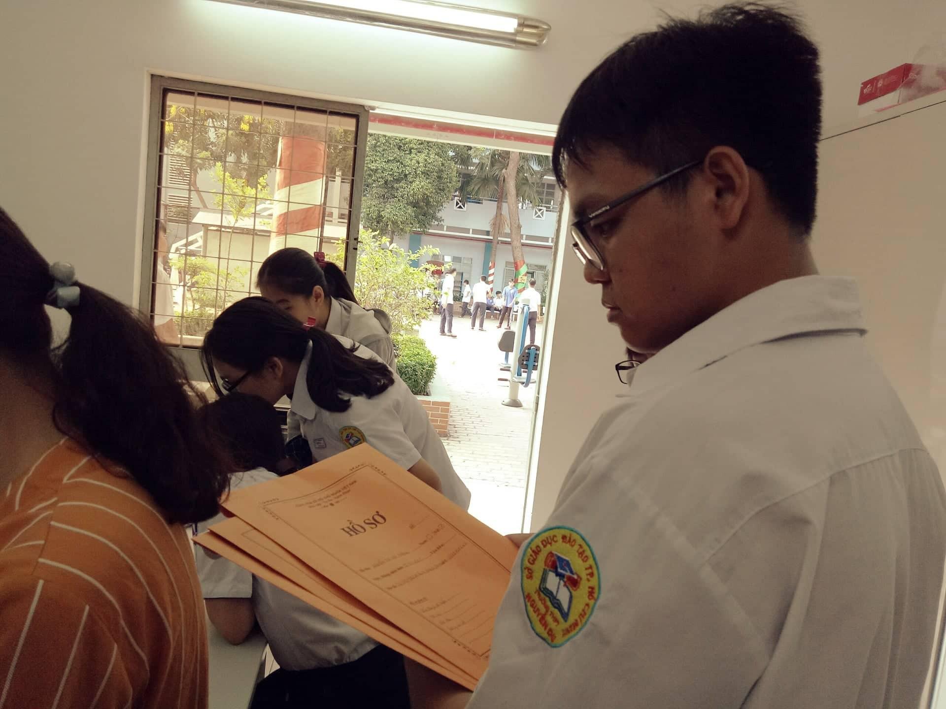 Hướng dẫn cách sửa sai khi đã nộp phiếu đăng kí dự thi THPT quốc gia 2019 - Ảnh 1.