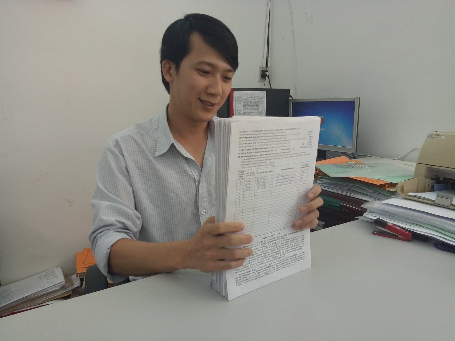 Hướng dẫn cách sửa sai khi đã nộp phiếu đăng kí dự thi THPT quốc gia 2019 - Ảnh 2.