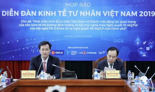 Nhiều nữ doanh nhân Việt quyền lực tại Diễn đàn kinh tế tư nhân 2019 - Ảnh 1.
