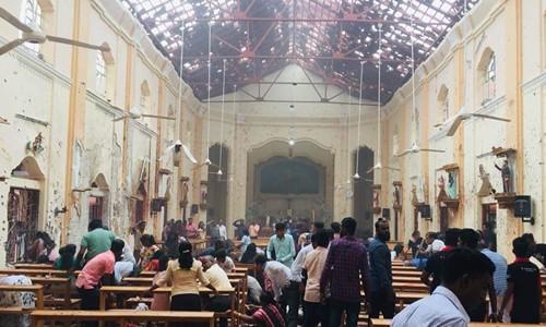 Nổ tại một loạt nhà thờ, khách sạn ở Sri Lanka vào lễ Phục sinh - Ảnh 1.