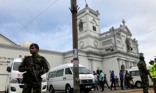 Nổ tại một loạt nhà thờ, khách sạn ở Sri Lanka vào lễ Phục sinh - Ảnh 2.