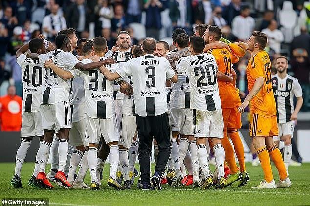 Juventus vô địch Serie A lần thứ 8 liên tiếp - Ảnh 5.
