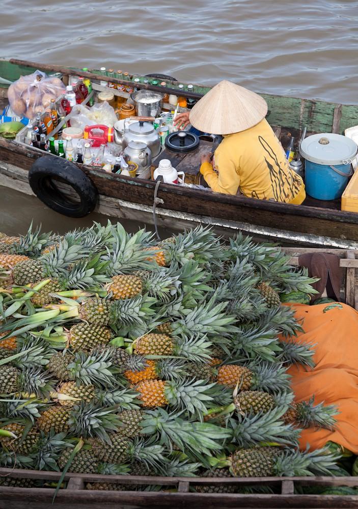 Nghỉ lễ 30/4: Hướng dẫn khám phá chợ nổi Cái Răng, Cần Thơ vào sáng sớm - Ảnh 4.