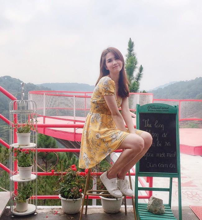 Ngọc Trinh chỉ đường cho hội bánh bèo check in cây cầu hồng lãng mạn nhất Đà Lạt sát dịp 30/4  - Ảnh 5.