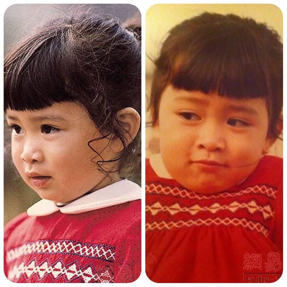 Ngắm loạt ảnh thời thơ bé siêu dễ thương của dàn sao đình đám TVB - Ảnh 5.