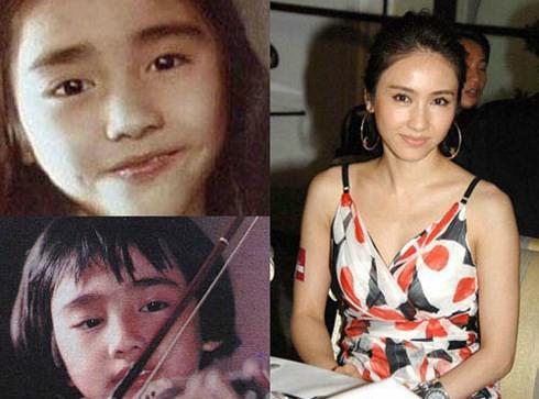 Ngắm loạt ảnh thời thơ bé siêu dễ thương của dàn sao đình đám TVB - Ảnh 8.