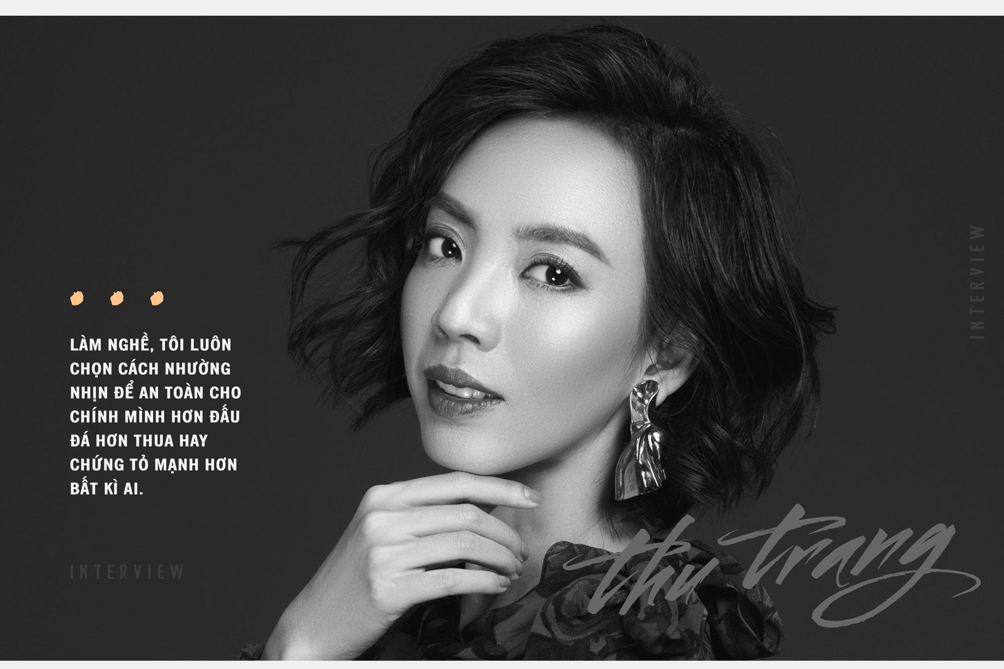 Diễn viên Thu Trang: 'Tiến Luật tự tin giữ được vợ vì giỏi chiều người khó tính như tôi' - Ảnh 2.