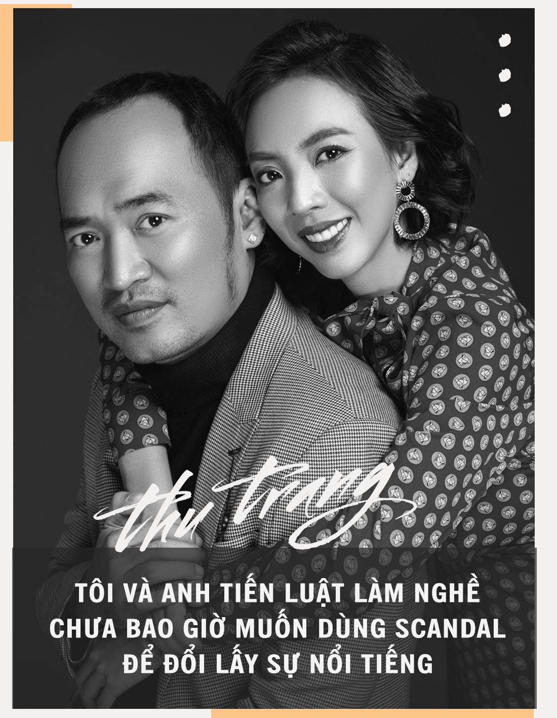 Diễn viên Thu Trang: 'Tiến Luật tự tin giữ được vợ vì giỏi chiều người khó tính như tôi' - Ảnh 5.