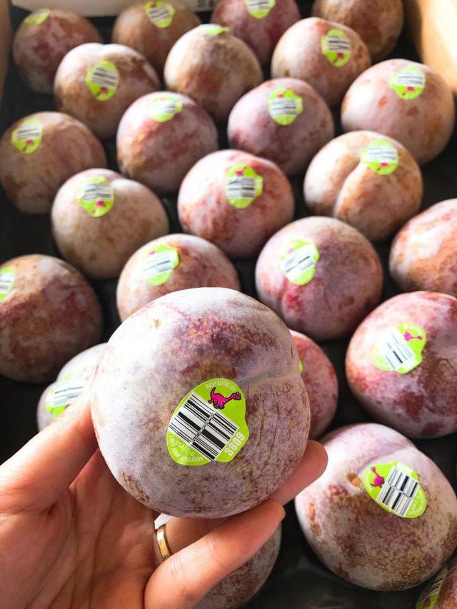 Mận khủng long nhập khẩu Úc to như quả đấm, chị em tranh nhau mua ăn để giảm cân - Ảnh 2.
