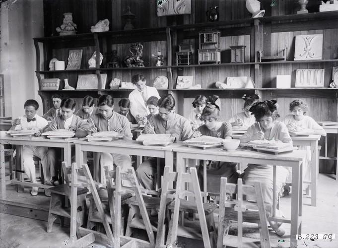 Ảnh độc trường Trung học nổi tiếng nhất Đông Dương ở Hà Nội - Ảnh 15.
