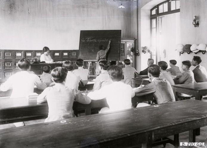 Ảnh độc trường Trung học nổi tiếng nhất Đông Dương ở Hà Nội - Ảnh 16.