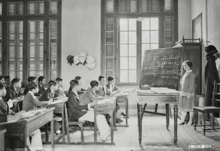 Ảnh độc trường Trung học nổi tiếng nhất Đông Dương ở Hà Nội - Ảnh 23.