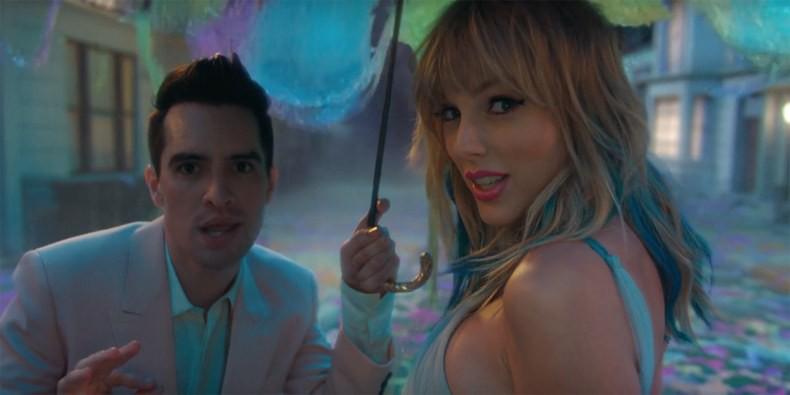 Taylor Swift biến thành bướm trong MV Me! - Ảnh 1.