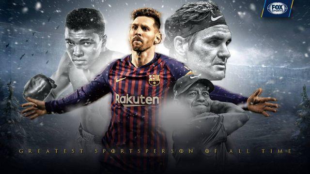 Messi được chọn là VĐV vĩ đại nhất mọi thời đại - Ảnh 1.