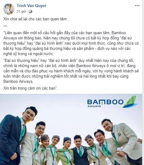 Trước tin đồn Đàm Vĩnh Hưng là đại sứ thương hiệu, Bamboo Airways nói gì?  - Ảnh 1.
