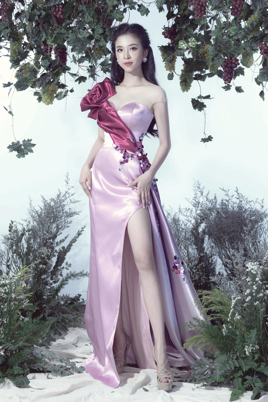 Tiểu Vy, Phương Nga, Thúy An hóa thân thành những nữ thần nho - Ảnh 5.