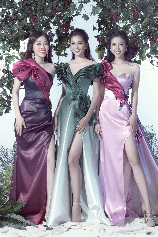 Tiểu Vy, Phương Nga, Thúy An hóa thân thành những nữ thần nho - Ảnh 7.