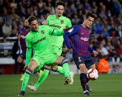 Messi ghi bàn giúp Barca vô địch sớm ba vòng - Ảnh 1.