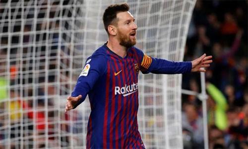 Messi ghi bàn giúp Barca vô địch sớm ba vòng - Ảnh 2.